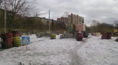 "Photo of Paintball Field Пейнтбольный клуб ""Граффити"" at Ул. Воинская, 1, Novosibirsk 630017, Russia"
