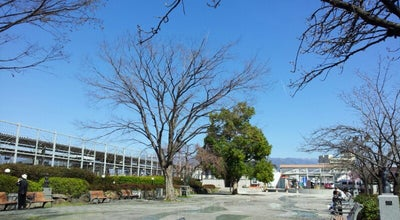 Photo of Park 石和温泉駅前公園 at 石和町松本186-6, 笛吹市 406-0021, Japan