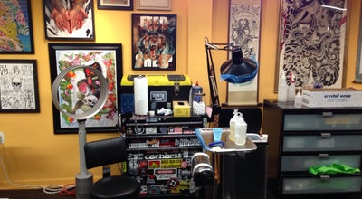 Photo of Tattoo Parlor Invisible NYC at 148 Orchard St, New York, NY 10002, United States