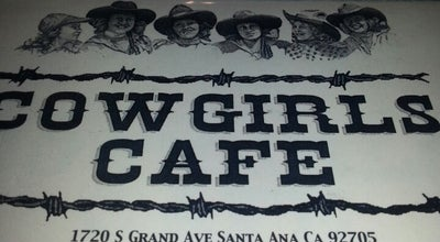 Photo of American Restaurant Cowgirl's Cafe at 1720 S Grand Ave, Santa Ana, CA 92705, United States