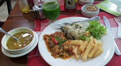 Photo of Vegetarian / Vegan Restaurant Govinda at R. Padre Prudêncio, 166, Belém 66019-080, Brazil