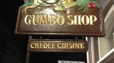 Photo of Cajun / Creole Restaurant Gumbo Shop at 630 Saint Peter St, New Orleans, LA 70116, United States