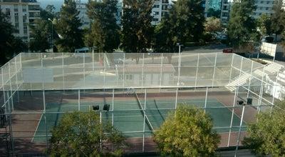 Photo of Tennis Court Basın Sitesi Tenis Kortu at Basın Sitesi Mahallesi, İzmir, Turkey
