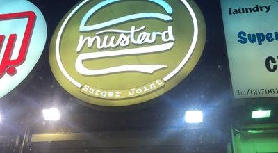 Photo of Burger Joint Mustard Burger at Kuwait