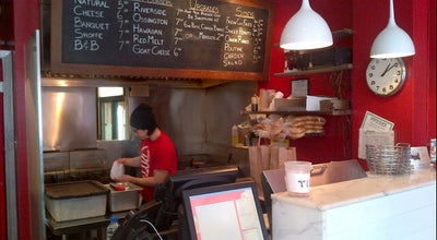 Photo of Burger Joint Burger Shoppe at 688 Queen St E, Toronto, ON M4M 1G9, Canada