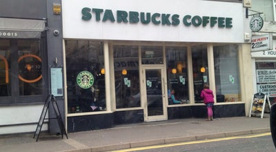 Photo of Coffee Shop Starbucks at 98 Poole Rd, Westbourne BN4 9EN, United Kingdom