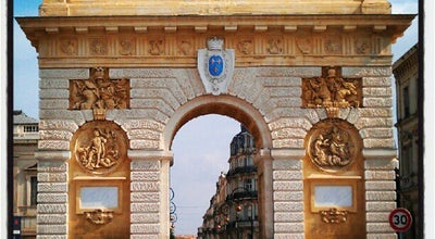 Photo of Historic Site Arc de Triomphe at Rue Foch, Montpellier 34000, France