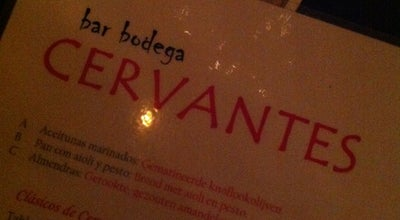 Photo of Tapas Restaurant Cervantes at Gedempte Kattendiep 23, Groningen 9711 PL, Netherlands