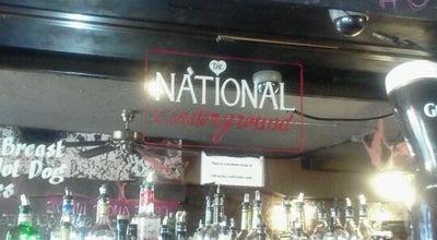 Photo of Nightclub The National Underground at 159 E Houston St, New York, NY 10002, United States