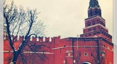Photo of Monument / Landmark Боровицкая башня / The Borovitskaya Tower at Московский Кремль, Москва, Russia