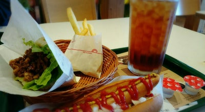 Photo of Burger Joint モスバーガー 富士河口湖店 at 小立4318-1, 南都留郡富士河口湖町 401-0302, Japan