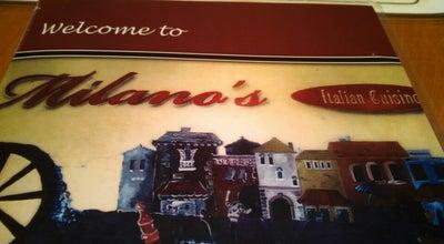 Photo of Italian Restaurant Milano's at 1060 W Main St, Abingdon, VA 24210, United States