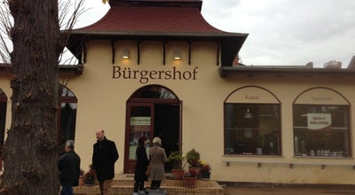 Photo of German Restaurant Bürgershof at Waldmüllerstr. 4, Potsdam 14482, Germany
