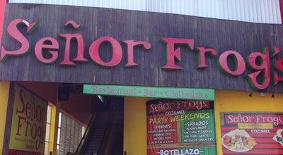 Photo of Bar Señor Frog's at Av. Rafael E. Melgar # 551, Cozumel 77600, Mexico