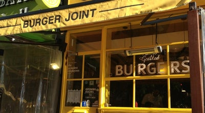 Photo of Burger Joint Classic Burger Joint at Right At The End Of Hamra's Main Street., Hamra, Lebanon