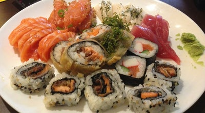Photo of Japanese Restaurant Haru Temakeria e Sushi at R. Timbiras, 6, Santos 11055-290, Brazil
