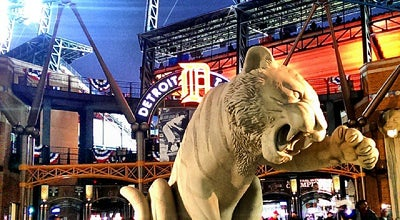 Photo of Baseball Stadium Comerica Park at 2100 Woodward Ave, Detroit, MI 48201, United States