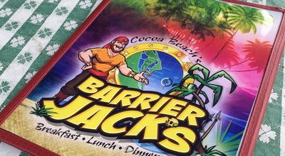 Photo of American Restaurant Barrier Jack's at 410 N Atlantic Ave, Cocoa Beach, FL 32931, United States