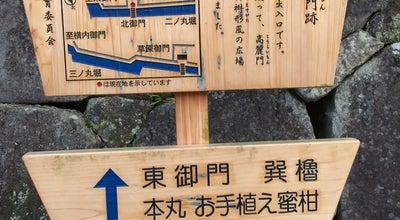 Photo of Historic Site 駿府城 北御門跡 at 駿府城公園, 静岡市葵区, Japan