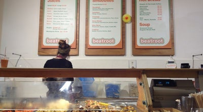 Photo of Vegetarian / Vegan Restaurant Beatroot Vegetarian Café at 92 Berwick St., Soho W1F 0QD, United Kingdom