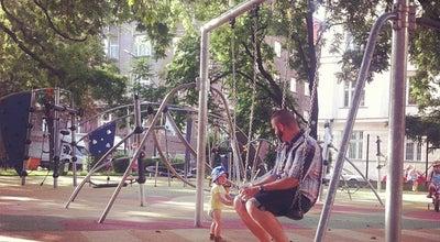 Photo of Playground Dětské hřiště Na Výtoni at Na Výtoni, Praha, Czech Republic