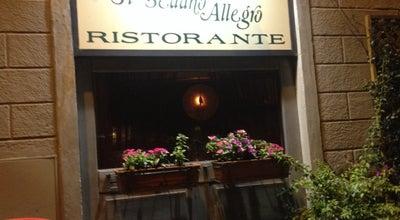 Photo of Vegetarian / Vegan Restaurant Ristorante Sedano Allegro at Via Farini, Firenze, Italy