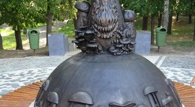 "Photo of Monument / Landmark Скульптура ""В Рязани грибы с глазами"" at Russia"