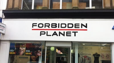 Photo of Tourist Attraction Forbidden Planet at 92 Bold Street, Liverpool L1 4HY, United Kingdom