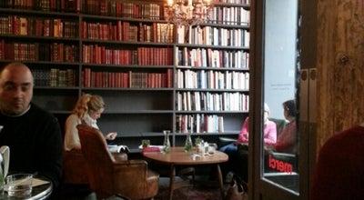 Photo of Cafe Used Book Café at 111 Boulevard Beaumarchais, Paris 75003, France