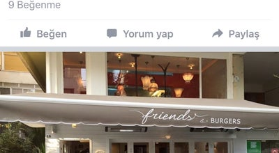 Photo of Burger Joint Friends & Burgers at 1388 Sokak No:5/b, İzmir, Turkey