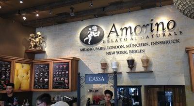 Photo of Ice Cream Shop Amorino at La Rambla, 125, Barcelona, Spain