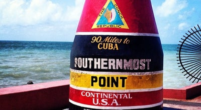 Photo of Monument / Landmark Southernmost Point at Whitehead Street, Key West, FL 33040, United States