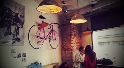 Photo of Coffee Shop La Bicicleta Cycling Café & Workplace at Pl. Ildefonso, 9, Madrid 28004, Spain