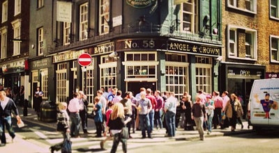 Photo of Pub Angel & Crown at 58 St. Martin's Ln, Covent Garden WC2N 4EA, United Kingdom