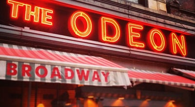 Photo of French Restaurant The Odeon at 145 W Broadway, New York, NY 10013, United States