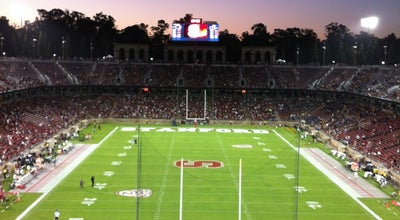 Photo of College Football Field Stanford Stadium at 625 Nelson Rd, Stanford, CA 94305, United States