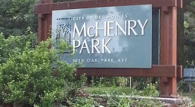 Photo of Playground McHenry Park at 9th & Oak Park, Des Moines, IA 50313, United States