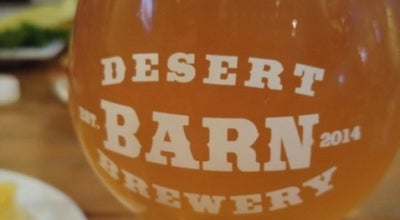 Photo of Brewery Desert Barn Brewery at 11352 Hesperia Rd, Hesperia, CA 92345, United States
