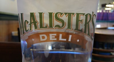 Photo of Sandwich Place McAlister's Deli at 8955 S Memorial Dr, Tulsa, OK 74133, United States