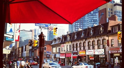 Photo of Italian Restaurant Brownstone's Bistro & Bar at 603 Yonge St., Toronto, ON M4Y 1Z5, Canada