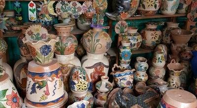 Photo of Flea Market Mercado de artesanias at Santa María Atzompa, Mexico
