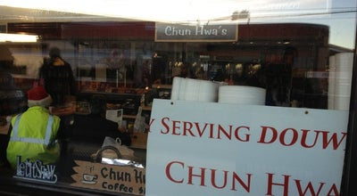 Photo of Coffee Shop Chun Hwa's Waterfront Roasters at 525 Water St, Bridgeport, CT 06604, United States