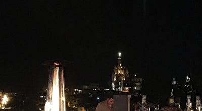 Photo of Cocktail Bar Terraza Rosewood Hotel at San Miguel de Allende, Mexico