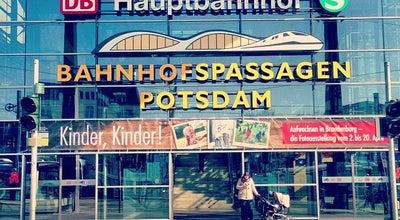 Photo of Train Station Potsdam Hauptbahnhof at Babelsberger Str. 16, Potsdam 14473, Germany