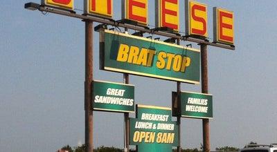 Photo of German Restaurant The Brat Stop at 12304 75th St, Kenosha, WI 53142, United States