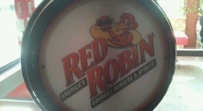 Photo of Burger Joint Red Robin Gourmet Burgers at 200 E Via Rancho Pkwy, Escondido, CA 92025, United States
