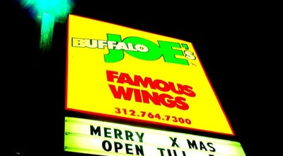 Photo of Wings Joint Buffalo Joe's at 1841 W Howard St, Chicago, IL 60626, United States