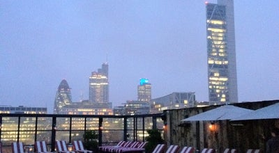 Photo of Lounge Shoreditch House at 1 Ebor St, Shoreditch E1 6AW, United Kingdom