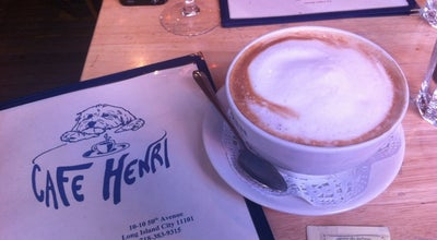 Photo of Cafe Cafe Henri at 27 Bedford St, New York, NY 10014, United States