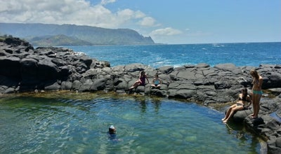 Photo of Beach Queens Bath at Off Punahele Rd, Princeville, HI, United States